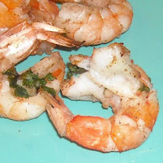 Grilled Caribbean Coconut Shrimp With Rum Marinade