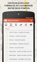 Screenshot of TRAFI Brasil metro bus train