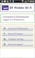 Screenshot of BT Mobile Wi-fi