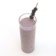 Zero Proof: Blueberry Muffin Smoothie