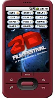 Screenshot of 3D Film Festival App