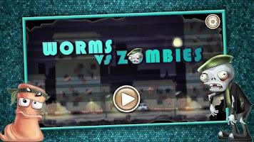 Screenshot of Worms VS Zombies