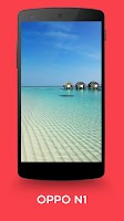 Screenshot of top stock android wallpapers 2