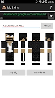 Screenshot of Mc Skins