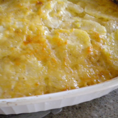 Fall Pear and Potato Gratin