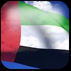 3D UAE Flag + icon