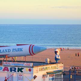 Astroland Coney Island by Don Webb - City,  Street & Park  Amusement Parks ( oark, coney, beach, island )