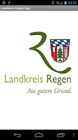 Screenshot of Landkreis Regen App