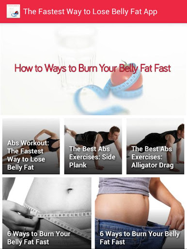 Ways burn belly fat fast