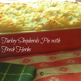 Turkey Shepherds Pie with Fresh Herbs