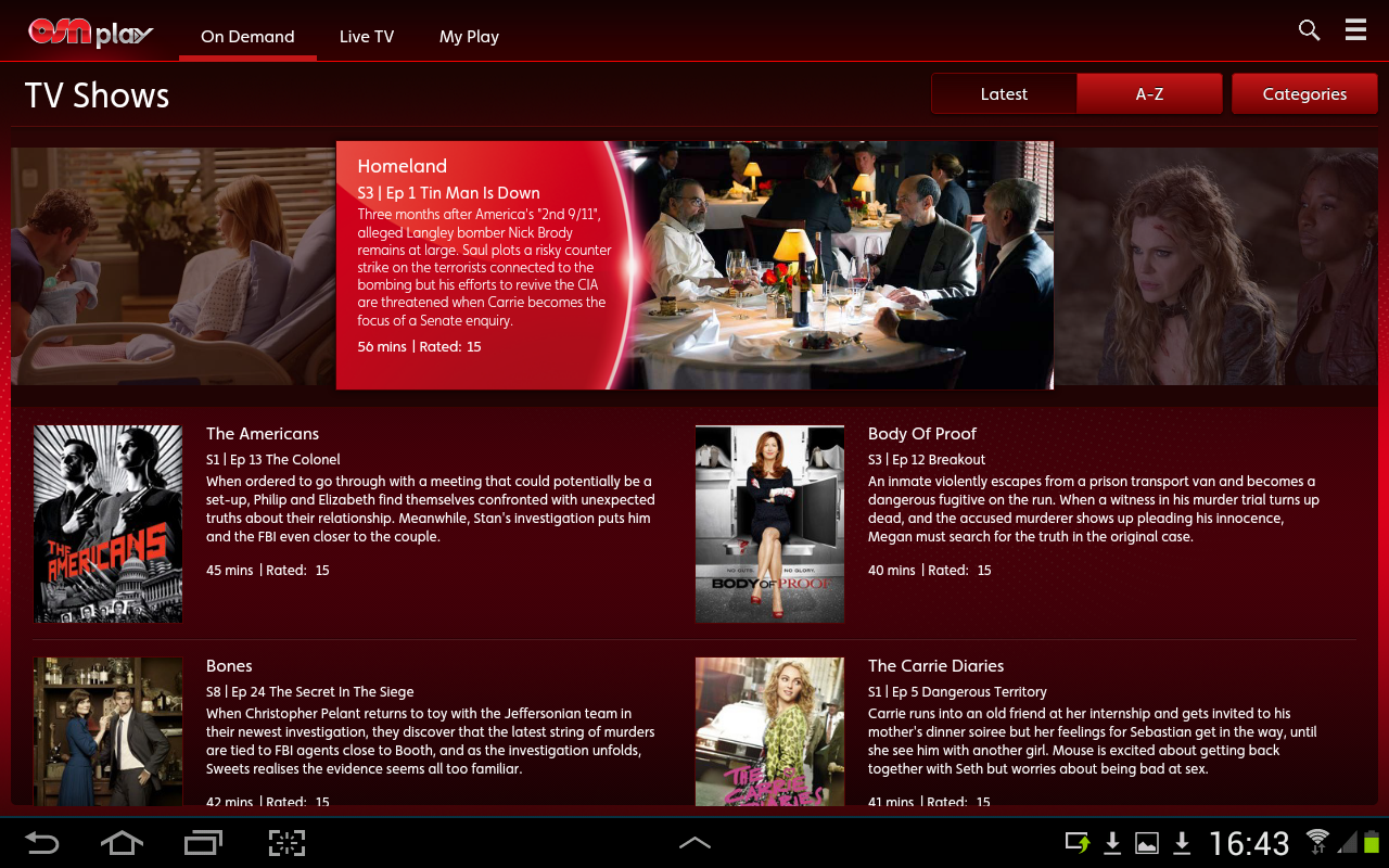 OSN Play Screenshot 11