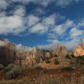 Zion National Park by VAM Photography - Landscapes Mountains & Hills ( national park, places, travel,  )
