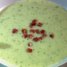 Chillout Honeydew Soup with Ham
