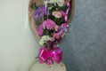 hand tied gift bouquet in stockport cheshire