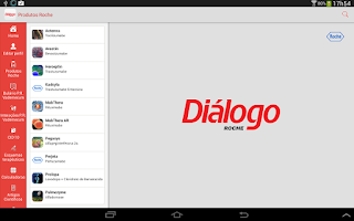 Screenshot of Diálogo Roche