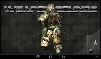 Screenshot of Weapon Sounds Gunshots