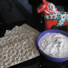 Smoked Salmon Dip With Dill and Horseradish