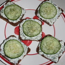 Cucumber Sandwiches (1 Ww Point Each)