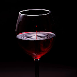 Last drop by Sima Iulian - Food & Drink Alcohol & Drinks ( studio, red-vine, drop, vine, food, drink, glass, product-picture )