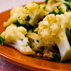 Braised Cauliflower with Garlic and Anchovies