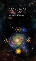 Screenshot of Galaxies GO Locker Theme