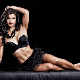 Female bodybuilder 3 by Gerhard Bouwer - Sports & Fitness Fitness ( bikini model, fitness model, south africa, bodybuilding, western cape )