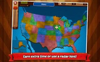 Screenshot of GeoFlight USA: Geography