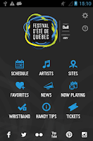Screenshot of Festival d'été de Québec
