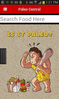 Screenshot of Paleo Central
