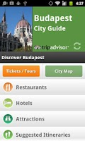 Screenshot of Budapest City Guide