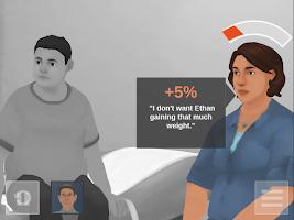 Screenshot of Change Talk: Childhood Obesity