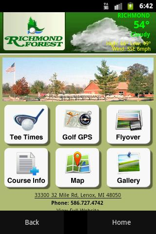 Richmond Forest Golf Course