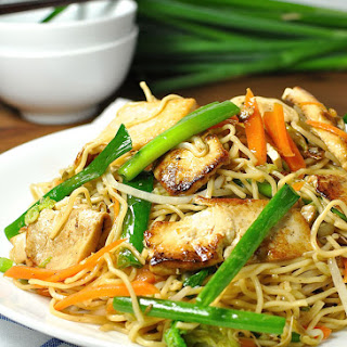 Chinese Cabbage Chow Mein Noodles Recipes