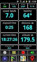 Screenshot of AndroiTS GPS Test Pro