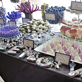 Sweet Love..... by Gail Jones-Taylor - Wedding Reception ( reception, love, candy, wedding )