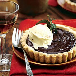 Vanilla And Chocolate Custard Tart Recipes