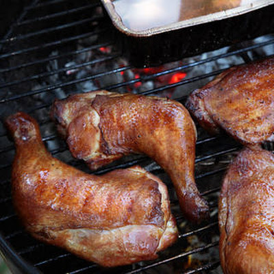 Hickory-Smoked Chicken