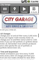 Screenshot of City Garage