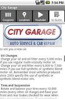 Screenshot of City Garage