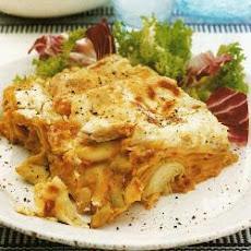 Flageolet Bean And Lentil Lasagne