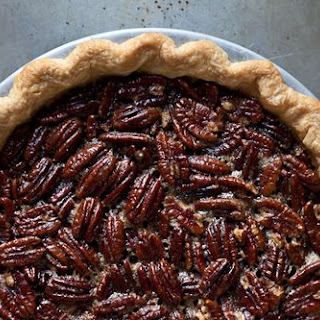Spiced Maple Pecan Pie with Star Anise