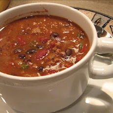 Three Bean and Beef Chili  (Light)