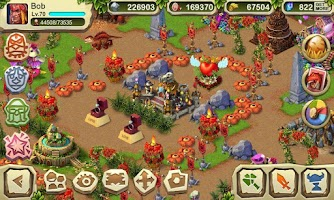 Screenshot of Dinosaur War