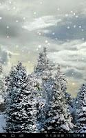 Screenshot of Snowfall Free Live Wallpaper