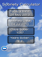 Screenshot of Daily Recovery App