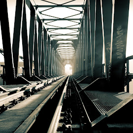the railway bridge by Mladen Šaban - Buildings & Architecture Bridges & Suspended Structures ( railway, bridges )