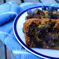 Blueberry & Chocolate Chip Pumpkin Loaf