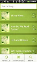 Screenshot of Islamic Moral Stories