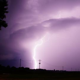 Flash by Brian Box - Landscapes Weather ( lightning, arkansas photographer, thunderstorm, long exposure, storm )