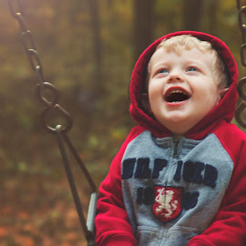 Pleasure of Swinging  by Rebecca Prince Sherfey - Babies & Children Toddlers